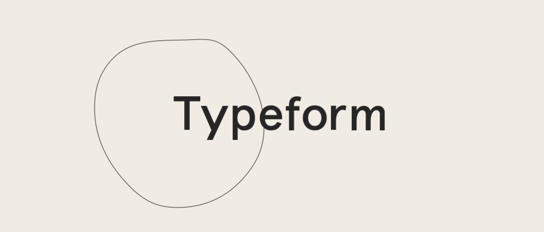 Typeform (タイプフォーム)